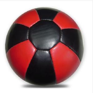 Medicinboll  Läder 5 kg, Röd/Svart