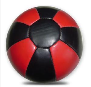 Medicinboll  Läder 4 kg, Röd/Svart