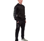 Topten Tracksuit Black Knight  Black
