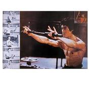 Bruce Lee Poster, 75x52 cm
