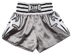King Thaishorts Silver Tribal