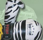 Topten Boxningshandske  Animal Zebra 10 oz