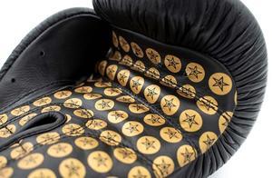 Topten Boxhandske WristStar, Svart/Guld 10 -12 oz