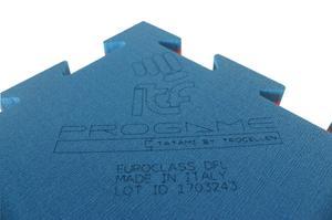Trocellen Pusselmatta ITF recognized Blå/Röd, 1x1 meter / 2,2 cm