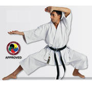 WKF Hayashi Tenno Karate Kata Byxa Vit, 150 cm