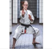 WKF Hayashi Katamori Karate Kata GI Vit