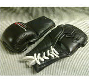 Grappling glove with laceclosure Leather, Large