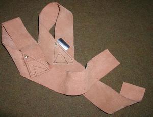 Dragremmar i läder, 5 cm