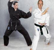 Hayashi Kamiza Karate Gi Svart, 12 oz