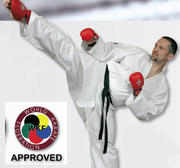 WKF Hayashi Kumite Karate Gi White