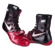 Nike HyperKO Boxsko, Svart/Röd/Vit