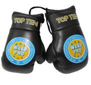 Mini boxhandskar Topten Wako Pro, Svart