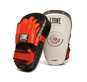 Leone Speed Line CoachMits Svart/Röd/Vit (Par)