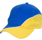 Black Hill Vasa Cap, Blue/Yellow 58 cm