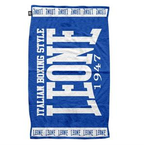 Leone Ringside Handduk, Blå 52 x 90 cm