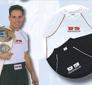 Topten T-shirt Fighters Club, Vit Small