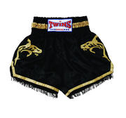 Twins Thaishorts Gold Shark