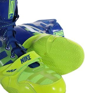 Nike HyperKO Boxsko, Blå/Gul