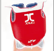 JCalicu Chestprotector Premium with shoulderguard Reversible, WT approved