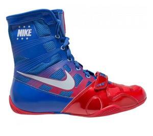 Nike HyperKO Boxsko, Blå/Röd