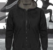 Pro One Pile Hood Long Zip, Svart