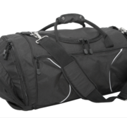 Black Hill Border Weekend Bag, Black (45 liter)