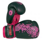 Topten Boxingglove Flower, Black/Pink 10 oz