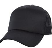 Black Hill Texas Cap, Black 58 cm
