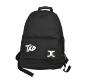JC Rucksack inc,  water bottle and towel