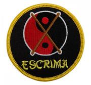 Embridered Patch, Escrima Yin Yang