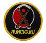 Embridered Patch, Nunchaku Yin Yang