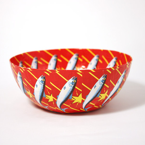 Big Red Lucky Star bowl