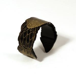 Armband Sugarbush protea, svart