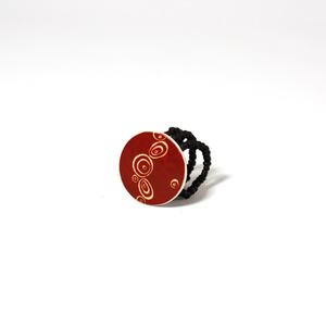 Ring strutsägg, Klimt Red