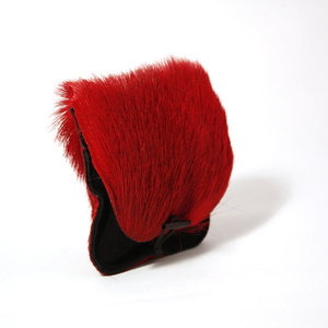 Pouch, springbok röd