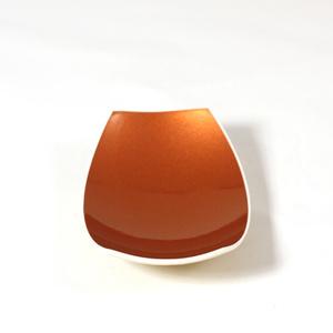 Rectangle copper spice bowl