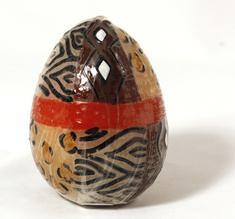 Capula candles Egg, Animal Print