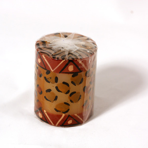 Kapula candles Pillar, Animal Print
