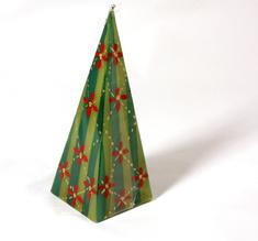 Kapula candles large Pyramid, Christmas