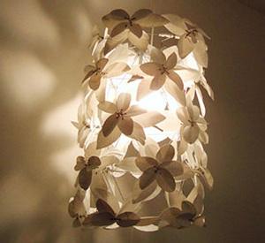 Heath Nash - Flower drum, white
