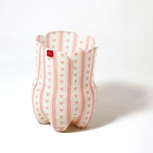 Klikbox små rosa hjärtan