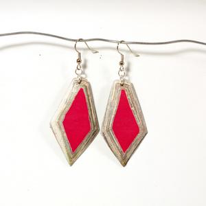 Diamond Earring Ruby