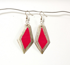 Diamond Earring Ruby