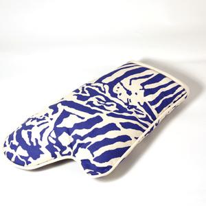 Botanical Zebra Ugnsvante, Stillahavs blå