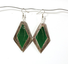Diamond Earring Emerald