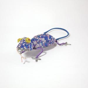 Blue funky gecko