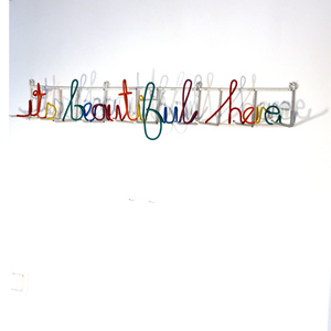 "Heath Nash - ""Its beautiful here"" klädhängare"