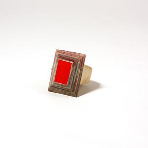 Ring Tehuti Red