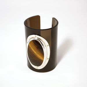 Cuff Tigereye, 80 mm