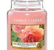 Sun Drenched Apricot Rose, Large Jar, Yankee Candle